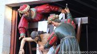 La procesión extraordinaria de La Escalera en imágenes