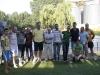 Todos los participantes en la primera de las tertulias de La Voz.
