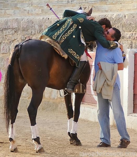 El rejoneador Palha brinda en Rioseco a Manzanares.