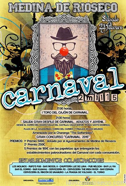 CARTEL CARNAVAL AEMPRYC 2015