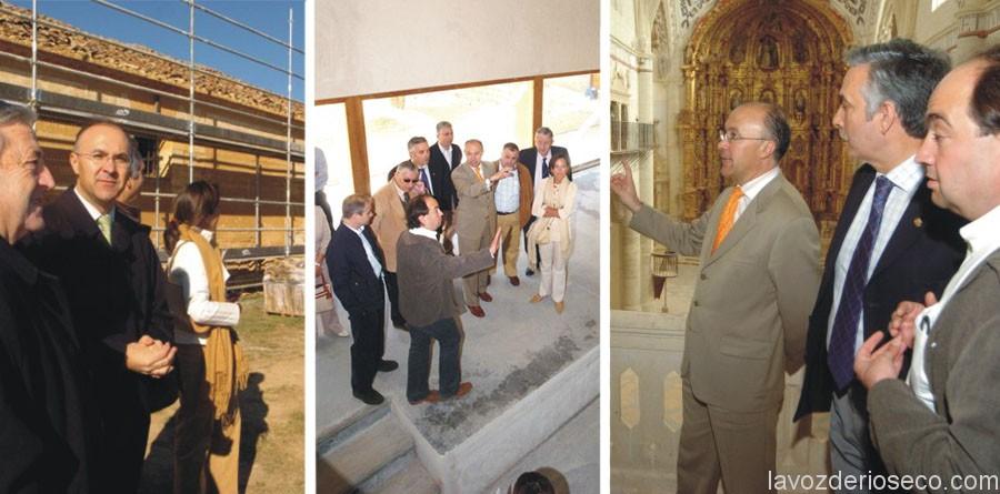 Algunas imágenes de archivo de las visitas del Consorcio  a las obras del Proyecto Almirante.