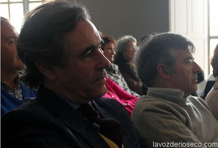 El autor del artículo (dcha.) junto a Fernando Pizarro