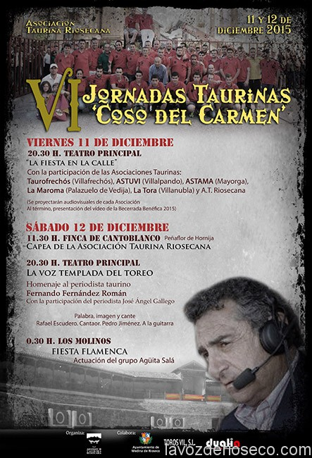 CARTEL JORNADAS TAURINAS 2015