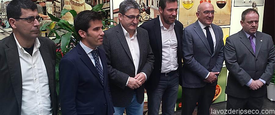 Alberto Bustos, Alfonso Lahuerta, Óscar campillo, Óscar Puente, Jesús Julio Carnero e Íñigo Torres.
