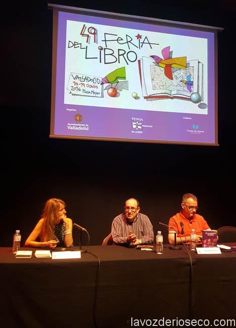Feria del Libro Valladolid 2016-Presentación Brillante