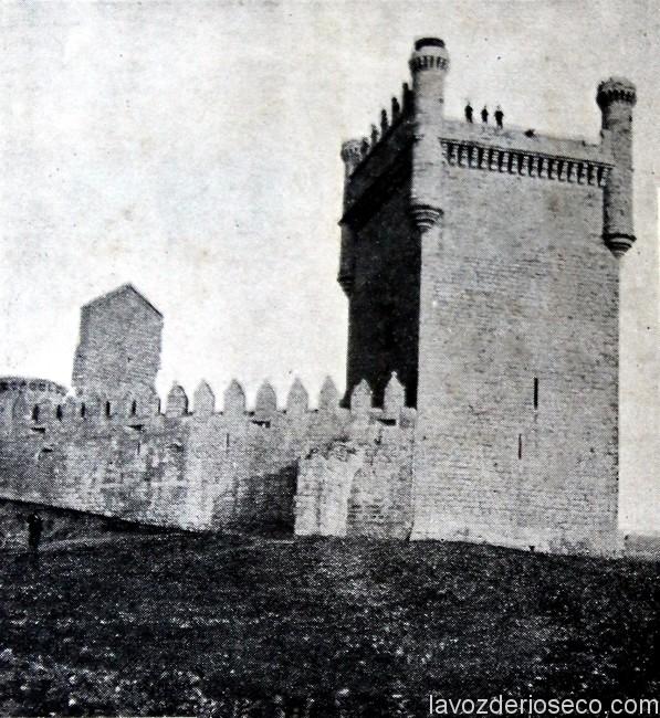 El castillo de Belmonte en 1925.