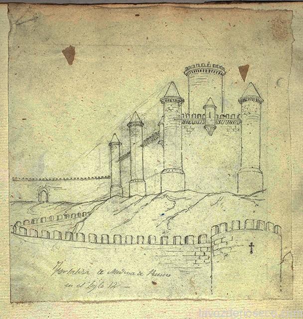 Castillo y murallas de Medina de Rioseco