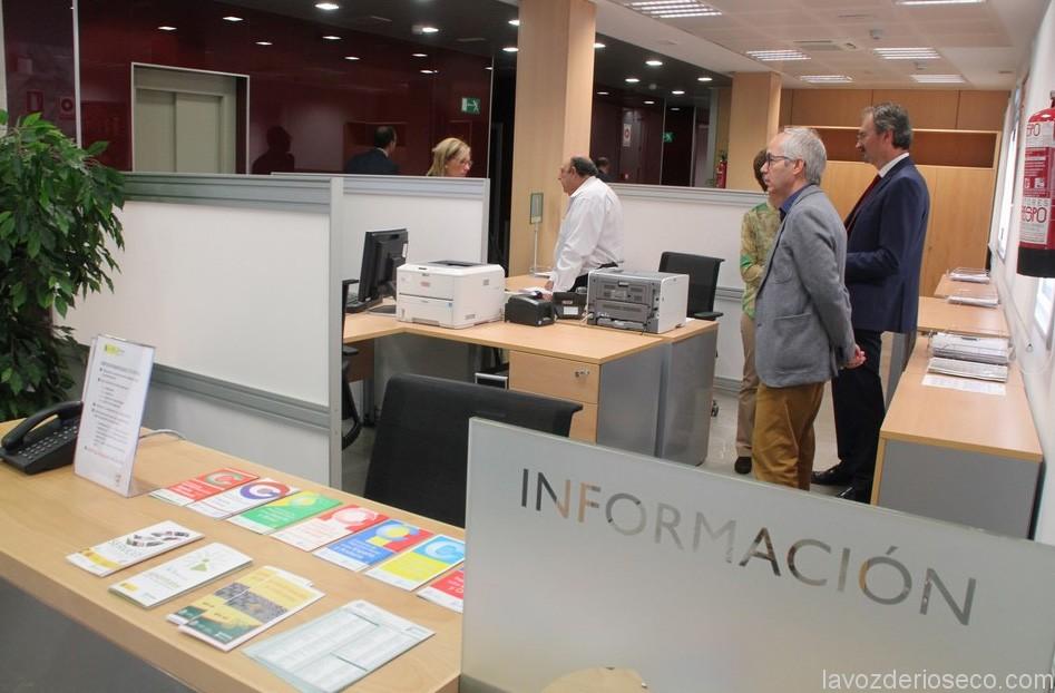 Imagen de la nueva oficina de la Seguridad Social en Rioseco.