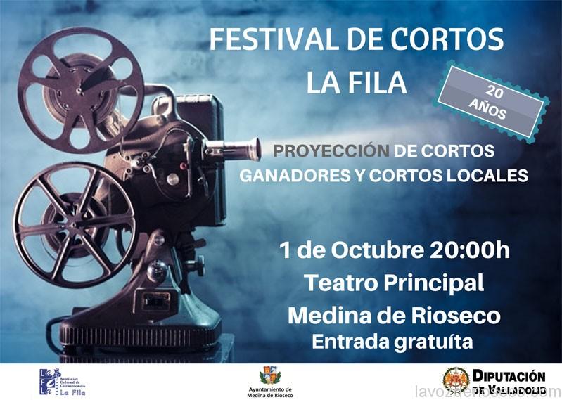 20 Festival de cortometrajes