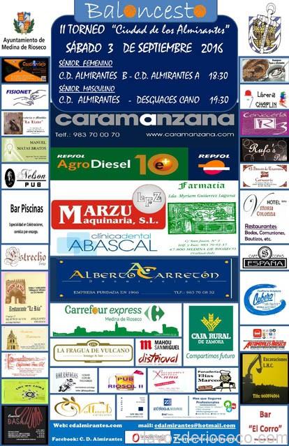 II TORNEO CIUDAD DE LOS ALMIRANTES